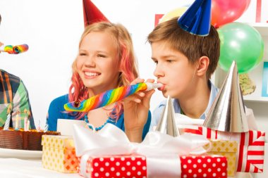 birthday party with teen friends