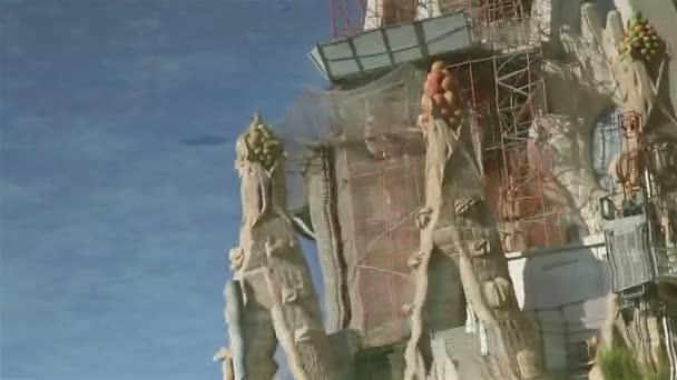 Sagrada Familia prvky reflexe