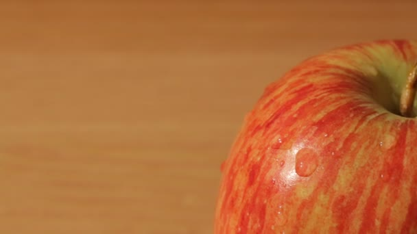 Posuvné zobrazení makra jablka