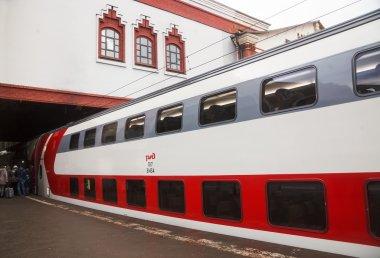 Two storey sedentary wagon train Railways