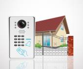 Photo Home access control system - Video door phone