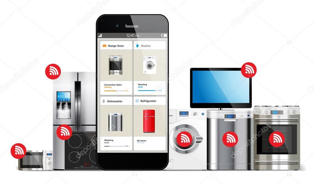 Sistema de controle em casa esperto aparelhos de cozinha for Future home appliances