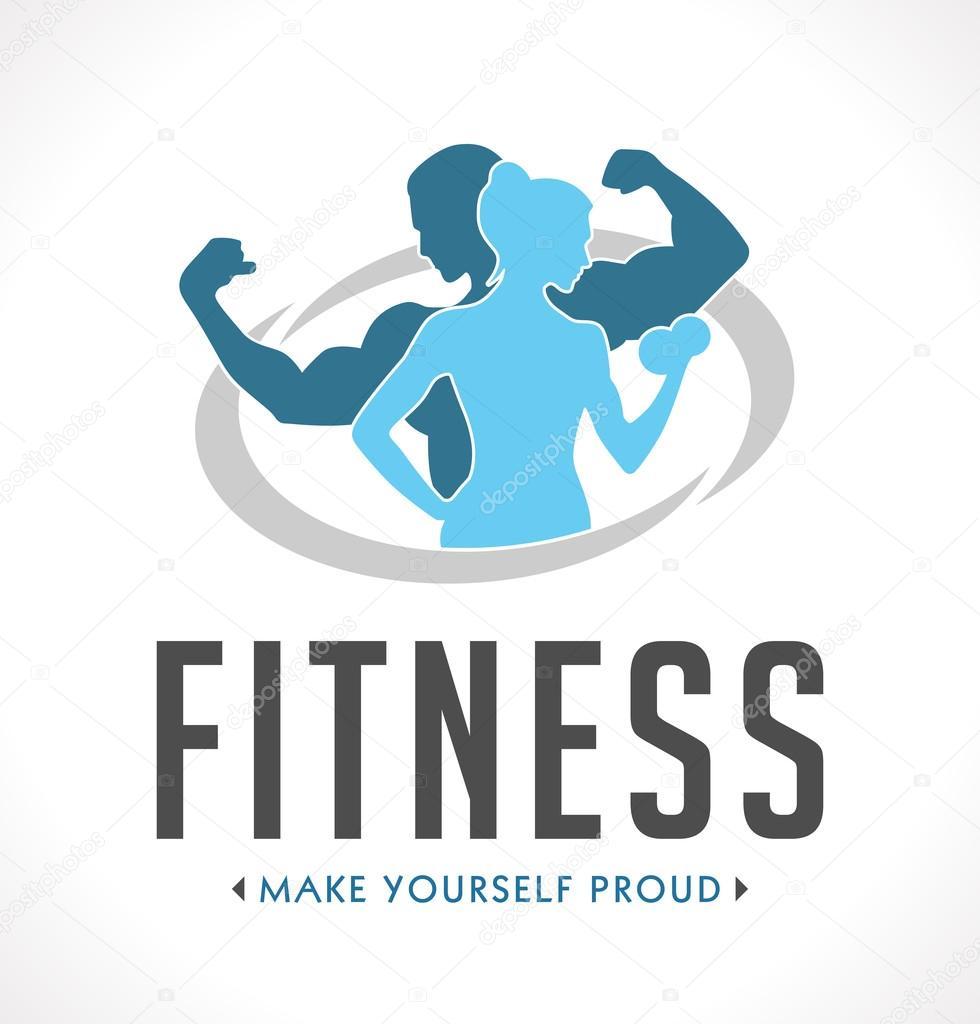 Gym Equipment Logo: Stockvector © Kosecki #122487342