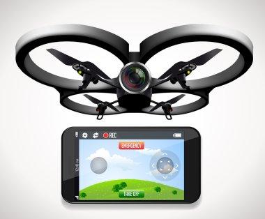 Drone games concept