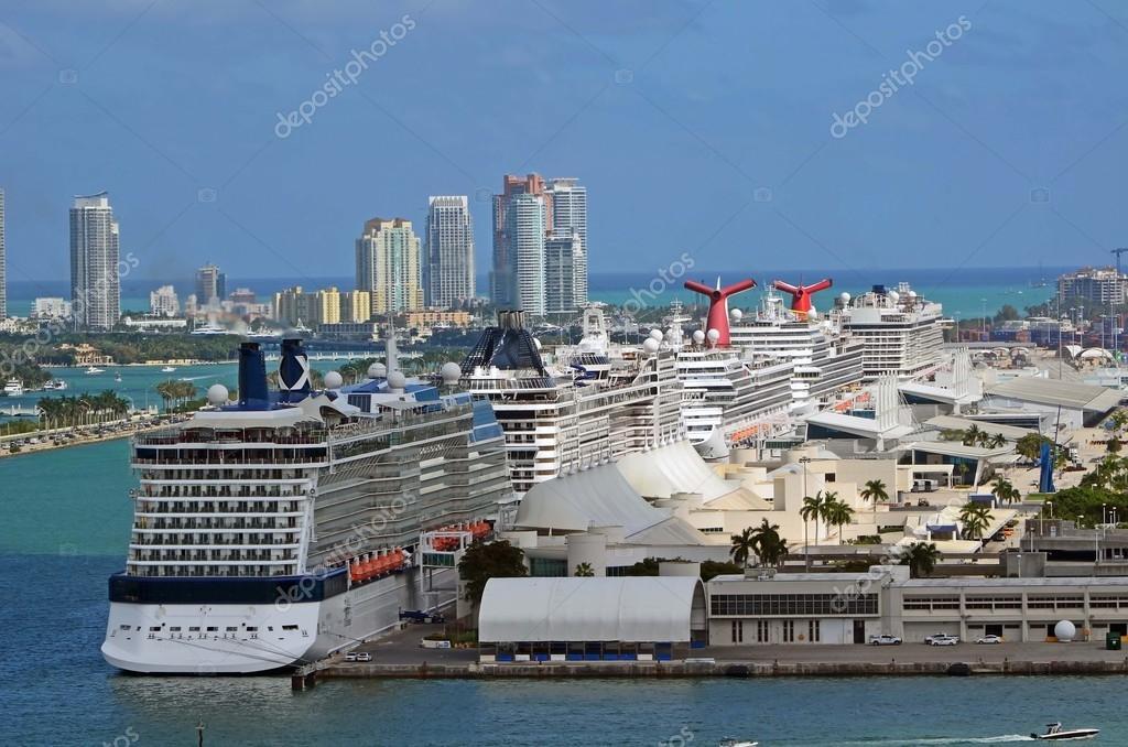Miami Cruise Ship Terminal Stock Photo 169 Wimbledon 67779225