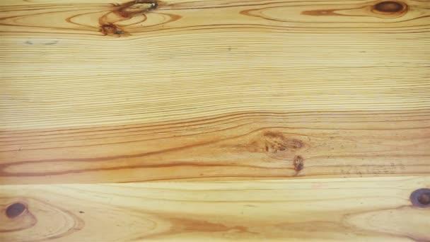 záběr shora na prázdný rustikální styl světle žlutý dřevěný povrch