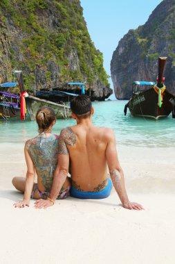 PhiPhi Maya Bay scenic view, daytime, Thailand, phuket