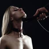 Fotografie Frau im Bild ein Sklave