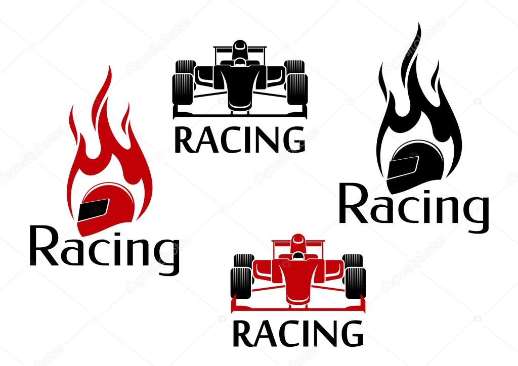 Car Racing And Motorsport Icons Stockvector Seamartini 101877800