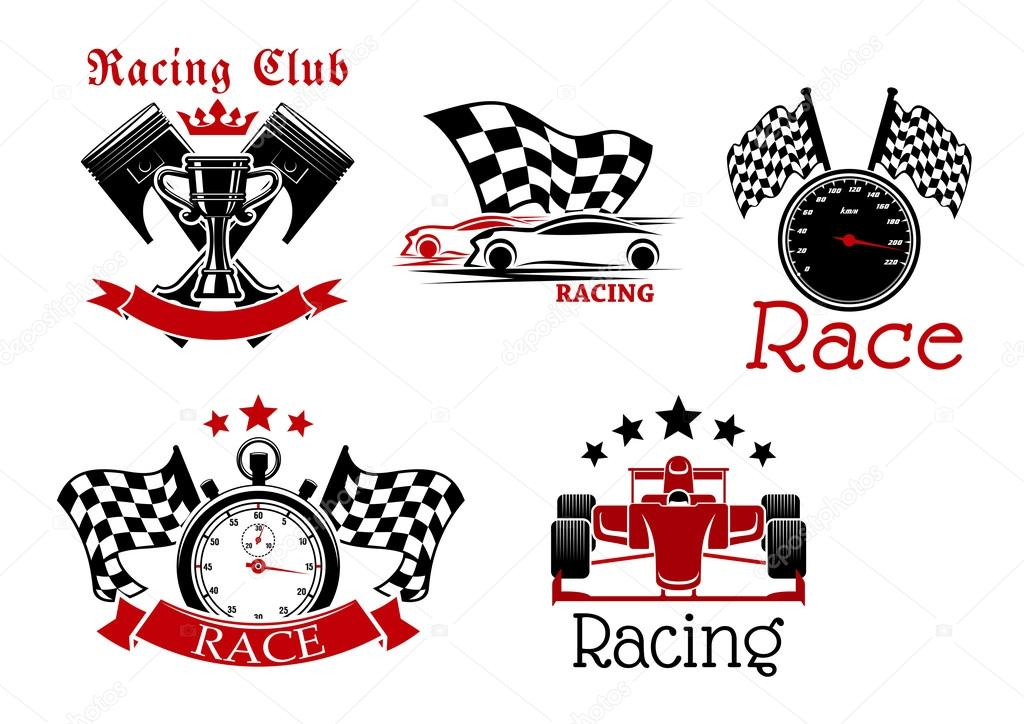 ᐈ Race Logos Stock Pictures Royalty Free Racing Logo Images Download On Depositphotos