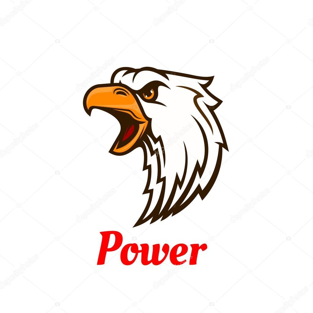 Screaming eagle head symbol for tattoo design stock vector screaming eagle head symbol for tattoo design stock vector biocorpaavc Images