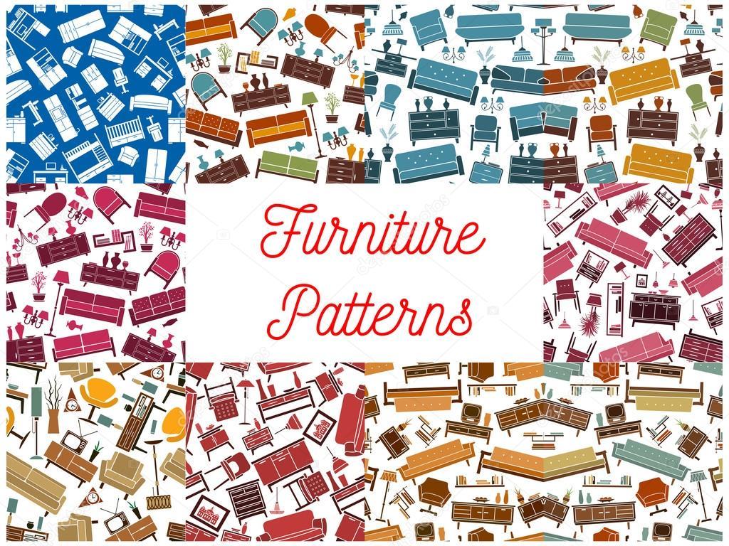 Fondos de muebles elementos interiores — Archivo Imágenes ...