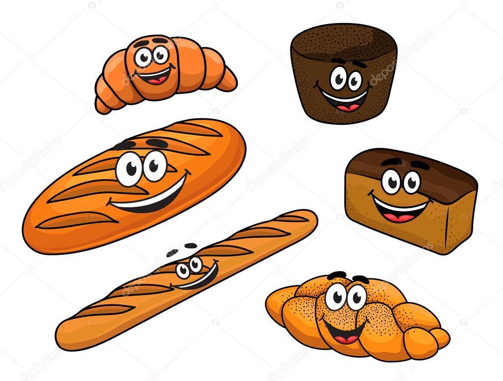 Dibujos Animados De Pan Panaderías
