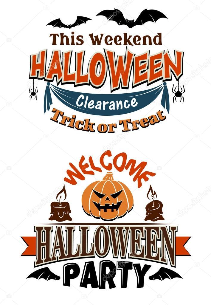 Halloween costume party invitation — Stock Vector © Seamartini #53333487