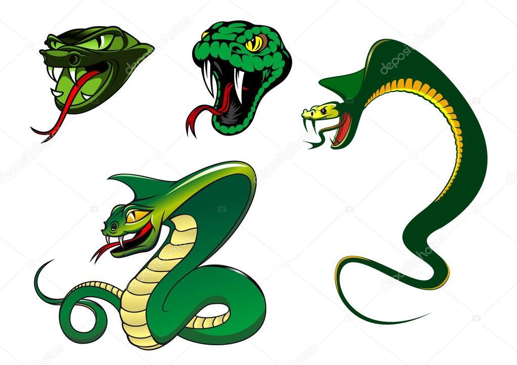 мультфильмов змеи картинки из