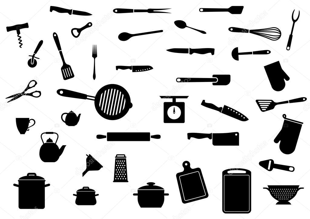 주방 용품 세트 — 스톡 벡터 © Seamartini #53784979