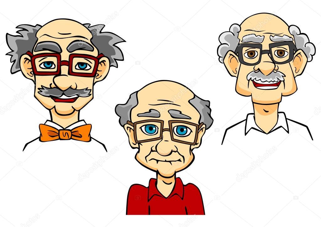 Retratos De Personas Mayores Caricatura