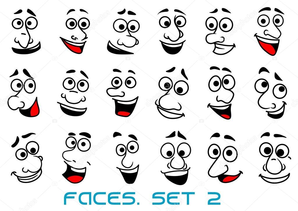 Dibujos: Caras De Caricaturas Animadas