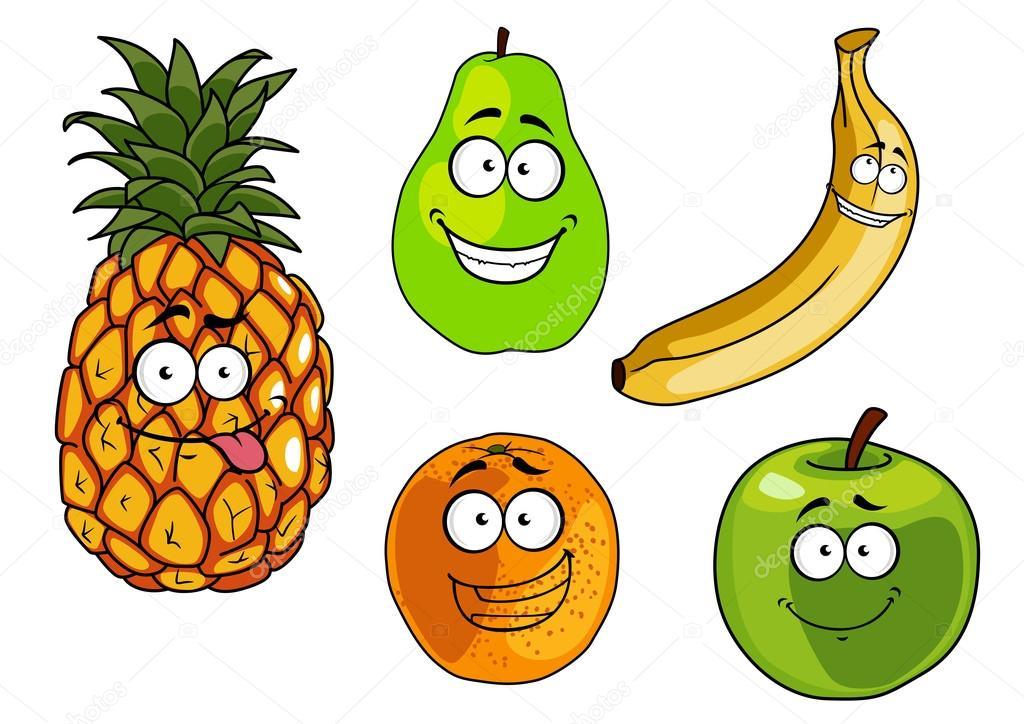 Imágenes: Frutas Animadas Manzana