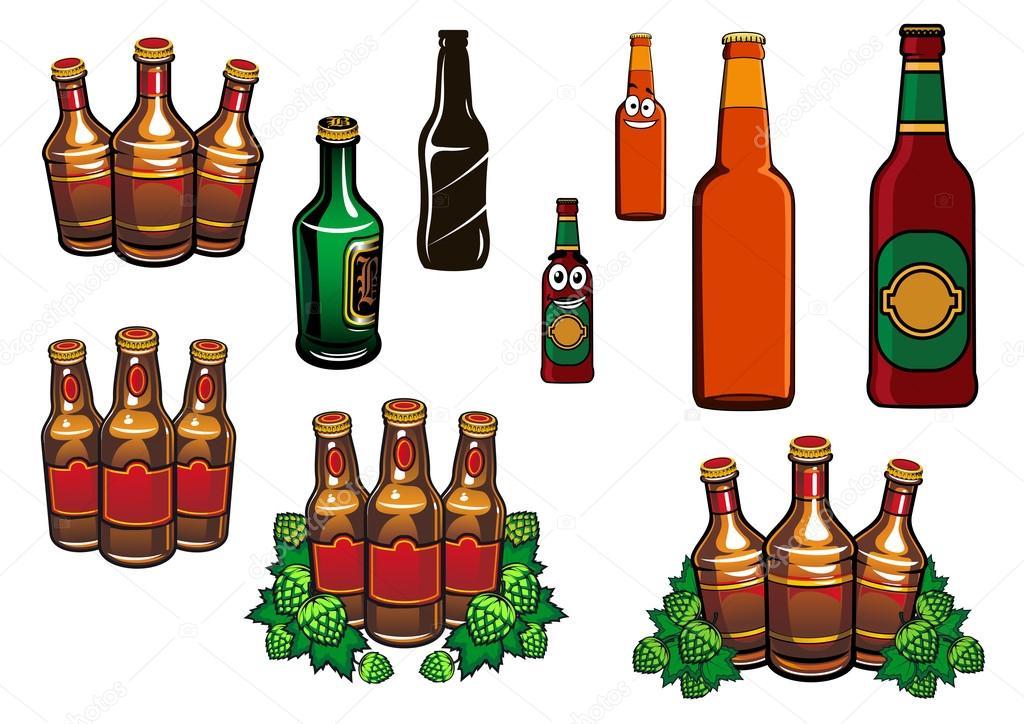 Botella De Cerveza Dibujo: Animado: Botella De Cerveza Dibujo
