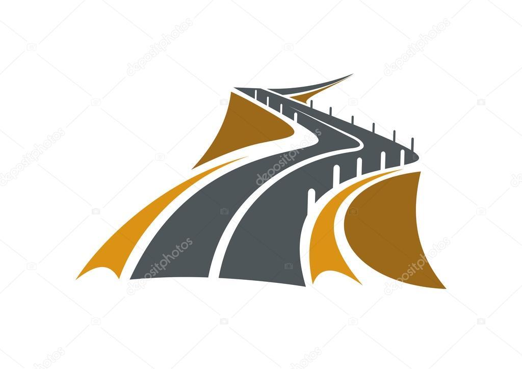 ᐈ Road Logos Stock Vectors Royalty Free Road Logo Illustrations Download On Depositphotos