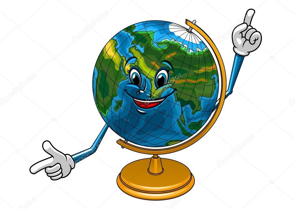 Картинки глобус веселый