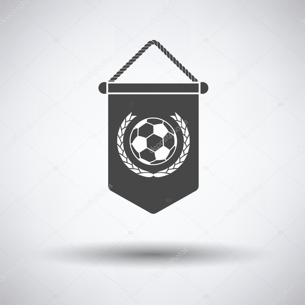 サッカー優勝旗アイコン ストックベクター Angelp 113366236