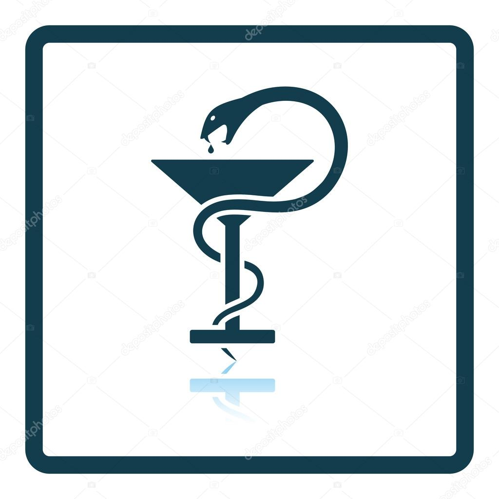 Medicine Sign With Snake Stock Vector Angelp 114462274