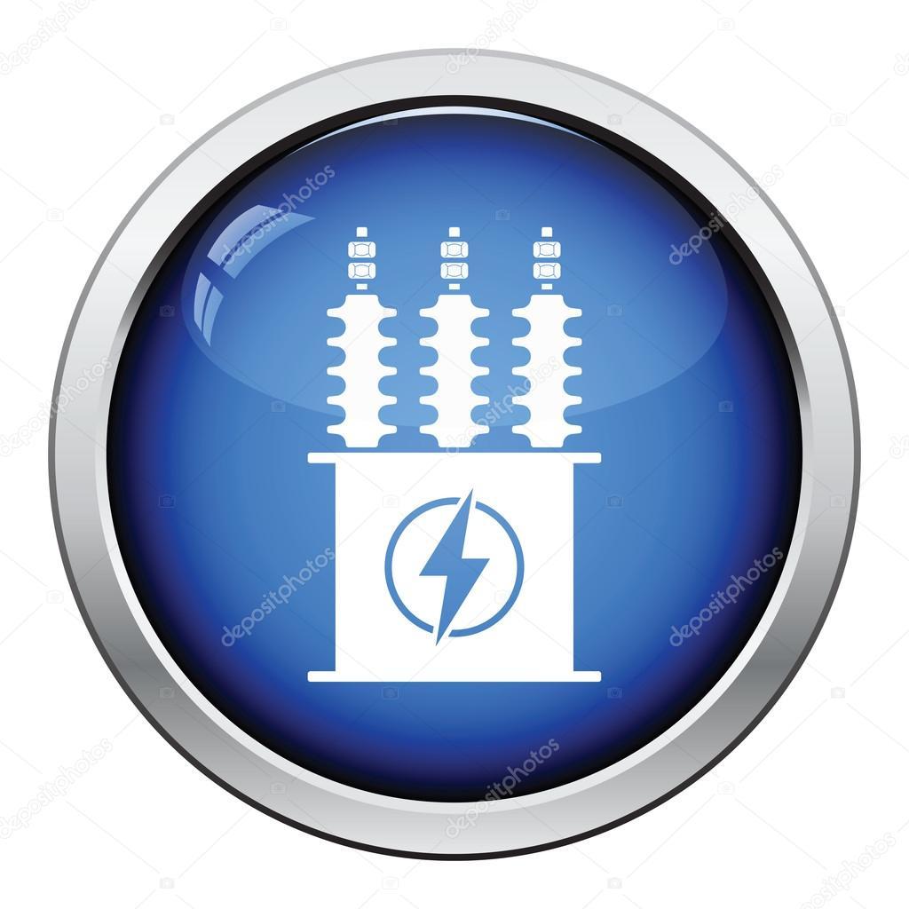 Elektro Transformator-Symbol — Stockvektor © angelp #115438530