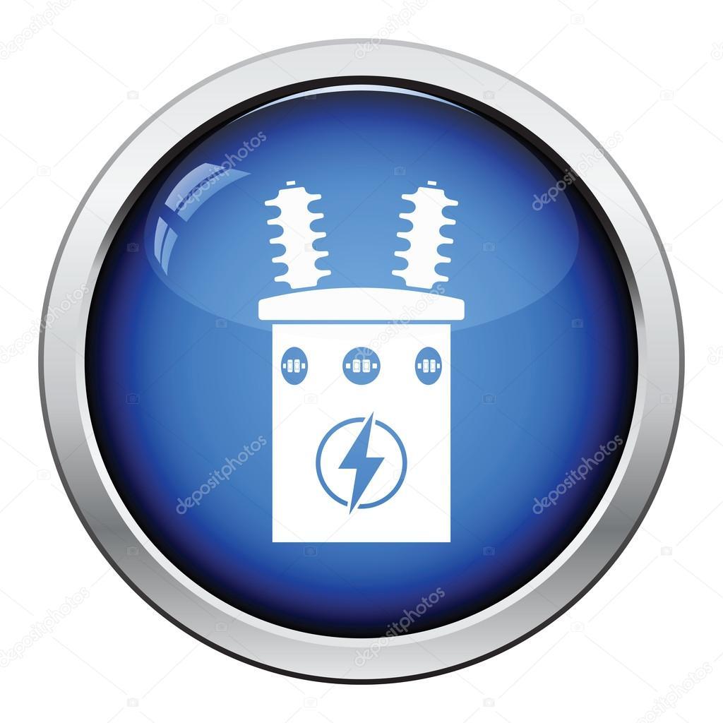 Elektro Transformator-Symbol — Stockvektor © angelp #115443326