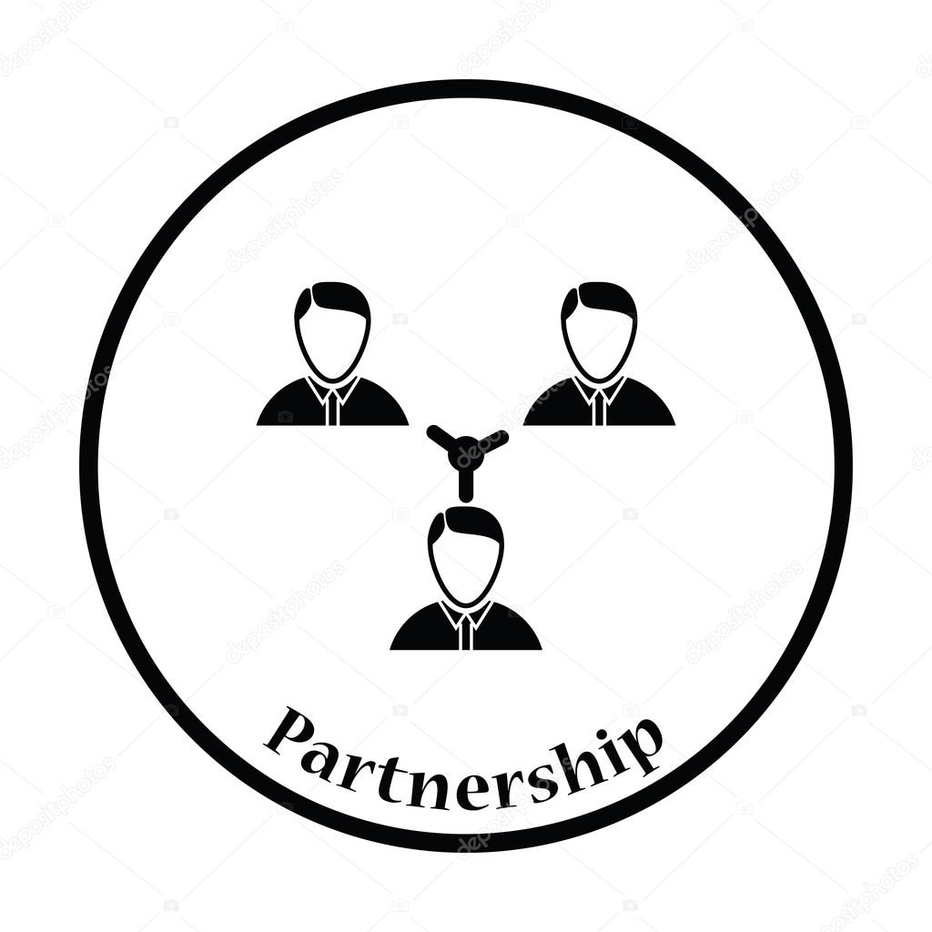 Unternehmer-Verbindungssymbol — Stockvektor © angelp #116375210