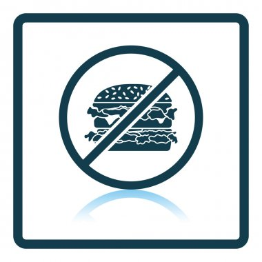 Icon of Prohibited hamburger