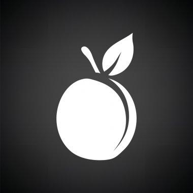 white peach icon