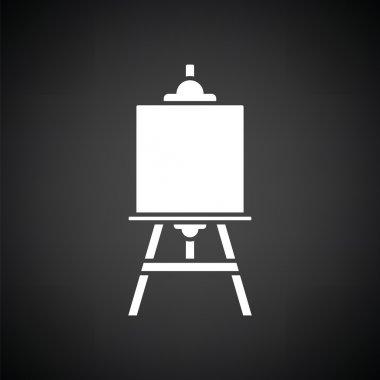white easel icon