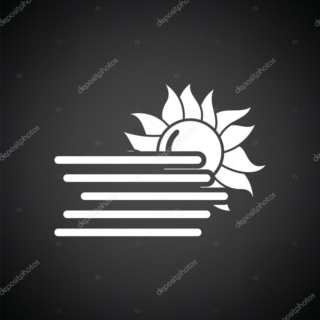 white fog icon