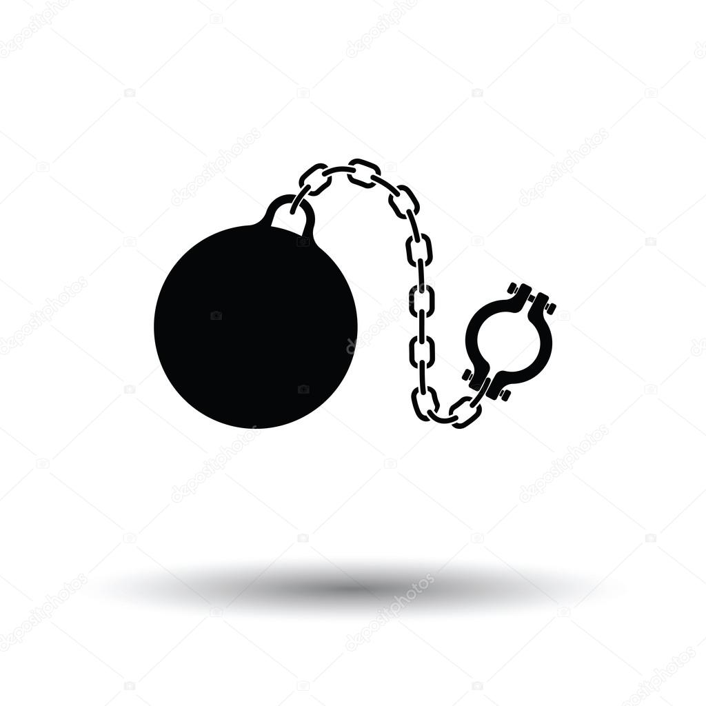 Image result for fetter ball and chain