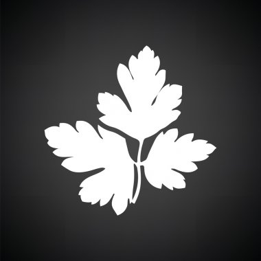 white parsley icon