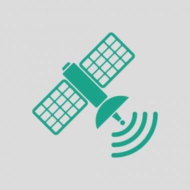 green satellite icon