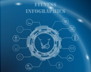 Fitness Infographic Template