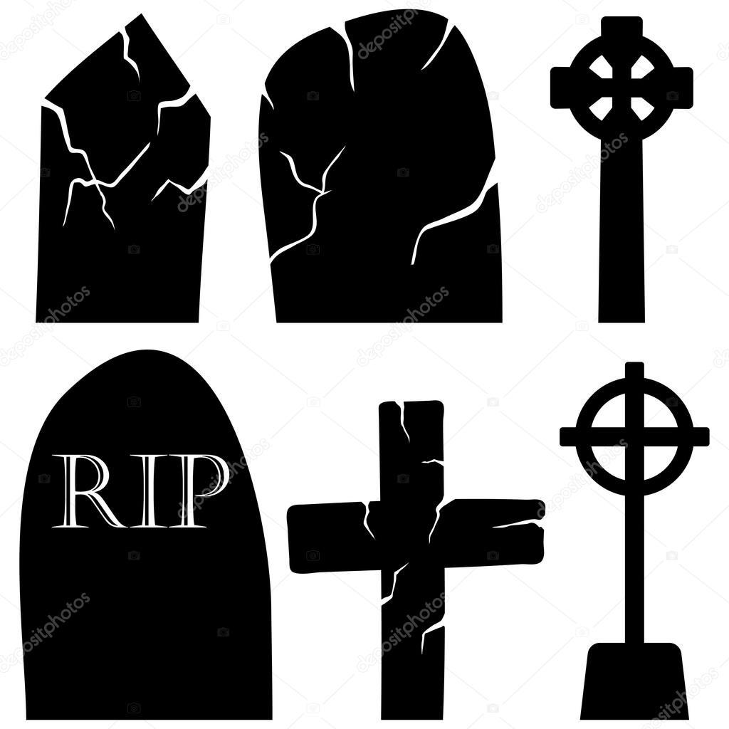 Halloween Holiday Elements Set.