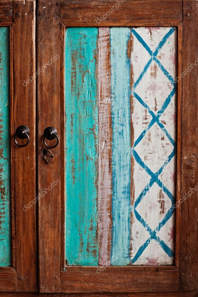 Möbel Aus Holz Shabby Chic Stil Stockfoto April89 102965702
