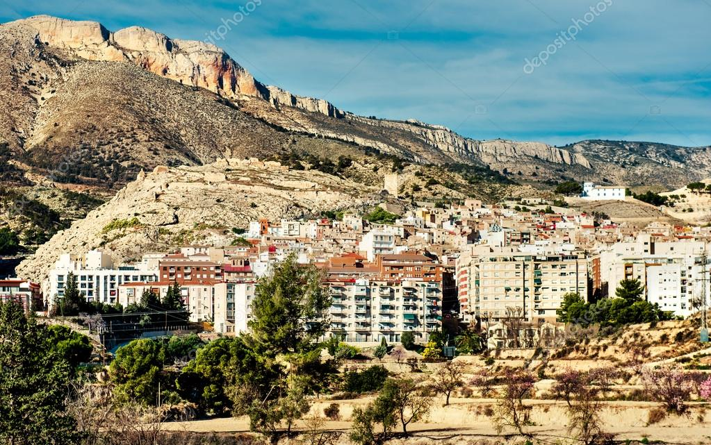 Jijona xixona town alicante province spain stock photo - Stock uno alicante ...