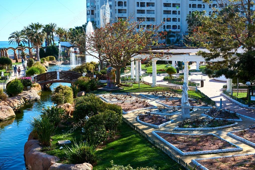 Jardin de marina d or ville de oropesa del mar espagne for Jardines marina d or