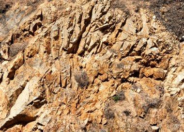 Close-up of a rock texture