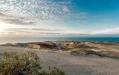 Sonnenaufgang über Dünen und Ostsee. Kurische Nehrung, Nida, Litauen