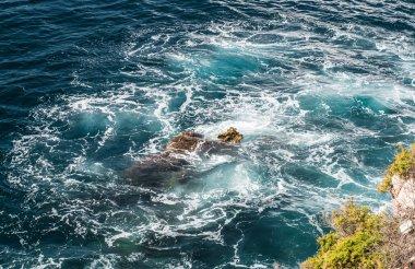 Surf. Mediterranean sea. Ibiza, Balearic Islands