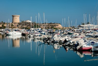 El Campello harbor. Alicante, Spain