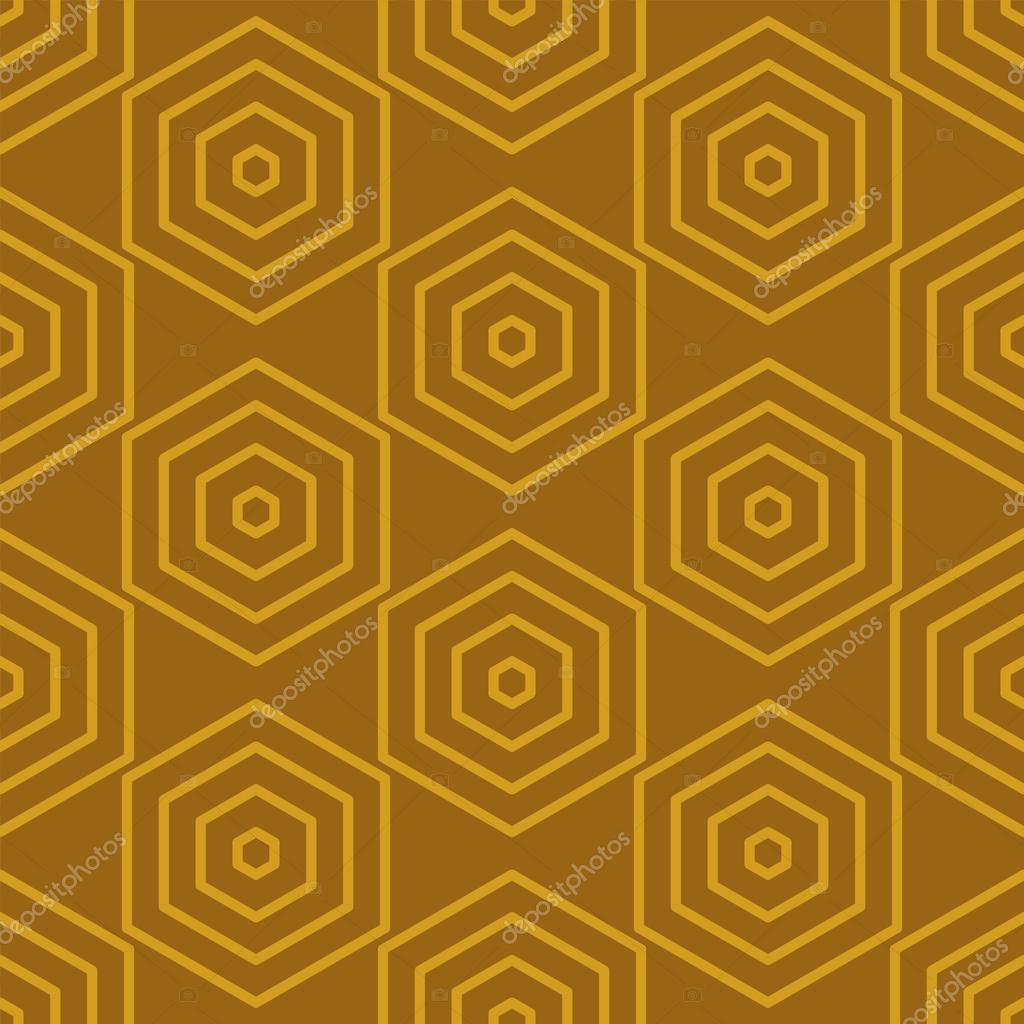 Nahtlose geometrische abstrakte Muster aus bunten Sechsecke ...
