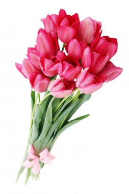 "Картина, постер, плакат, фотообои ""букет розовых тюльпанов постеры цветы картины арт ван гог"", артикул 54889591"