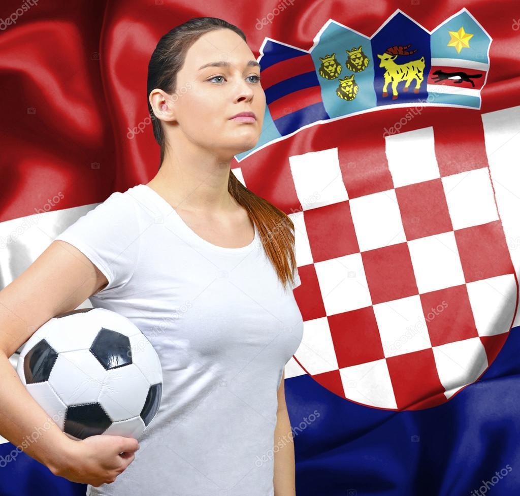 kroatien frau